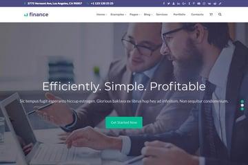 The Finance - Payday Loans WordPress Theme