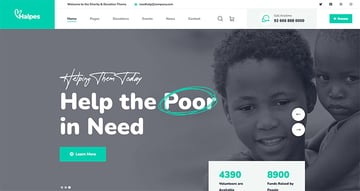 Halpes - Non Profit Charity HTML Template