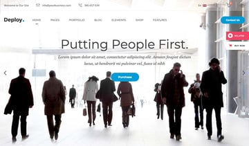 Deploy – Consulting & Business Theme