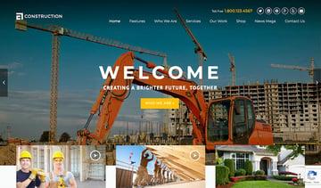 Construction WordPress Theme