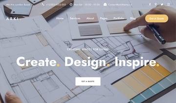 Arki - Architecture Theme