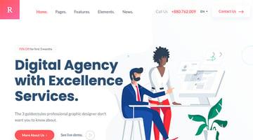 Rogan - Creative Multipurpose HTML + RTL template