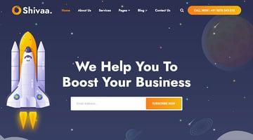 Shiva - Creative Agency Bootstrap Template