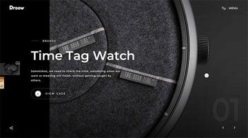 Droow – Creative Showcase Portfolio Template