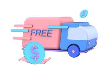 Shopping Promotion 3D Illustrations
