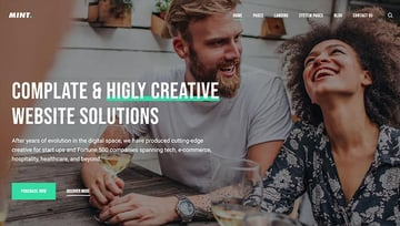 Mint - Creative Multi-Purpose HubSpot Theme