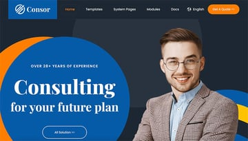 Consor –Consulting Business HubSpot Theme