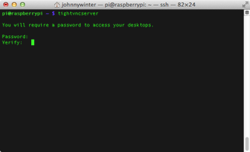 Enter a password