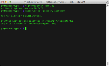 Changing the resolution of the Raspberry Pi desktop
