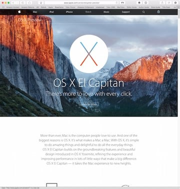 OS X 1011 El Capitan will be released in Autumn 2015