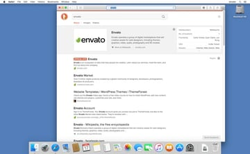 Relaunch Safari and conduct a search to check which search engine is being used
