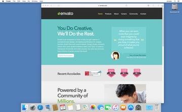 Launch the Safari web browser