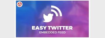 Easy Twitter Embedded Feed