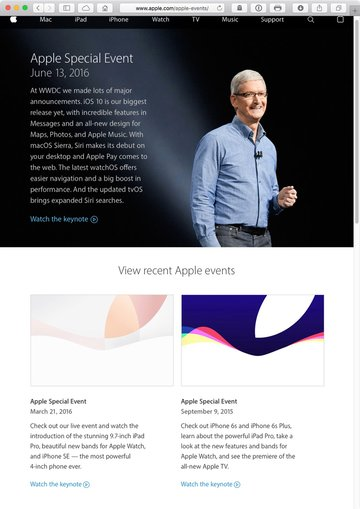 Catch up with historic Apple events