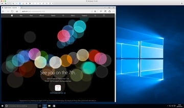 View on a Windows PC running Windows 10 and the Edge browser