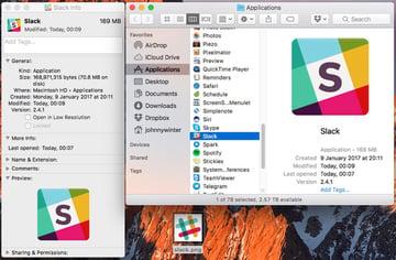 The original Slack app icon