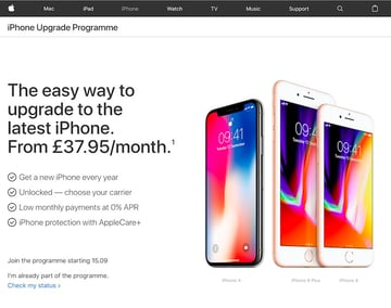 The Apple iPhone Upgrade Programme