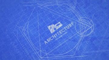Blueprint Logo Reveal