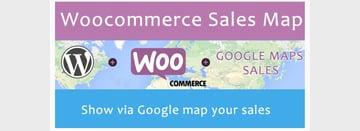 Woocommerce Sales Map