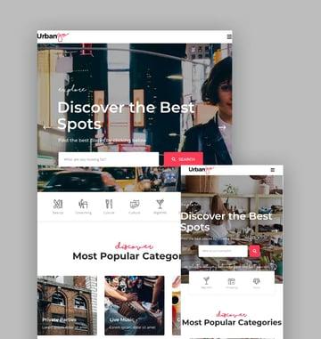 UrbanGo WordPress Responsive Theme