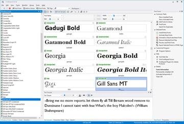 FontExpert for Windows