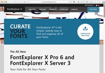 FontExplorer Pro X for macOS