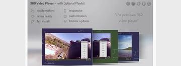Video Player 360 WordPress—Video Gallery DZS Add On