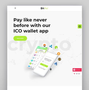 BitPal—Cryptocurrency WordPress Theme
