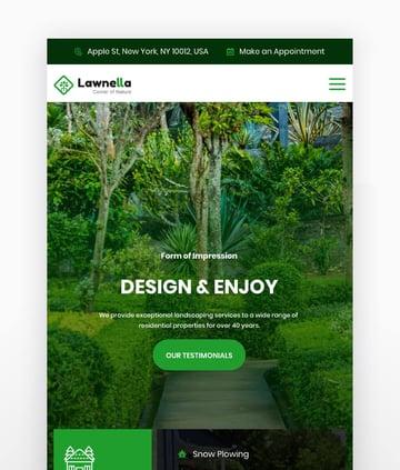 Lawnella - Gardening  Landscaping WordPress Theme