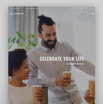Roneous—Creative Multi-Purpose WordPress Theme