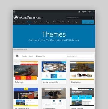 Free WordPress Trucking Themes