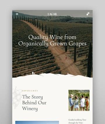 Lagar—Winery Wine Shop WordPress