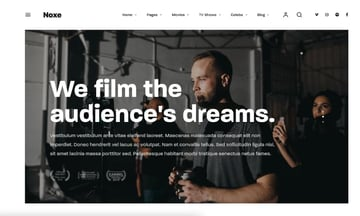 Noxe—Movie Studios and Filmmakers Theme