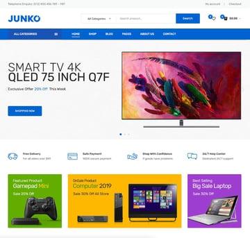 Junko—Technology Theme for WooCommerce WordPress