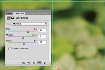 Adjustment Layer Color Balance