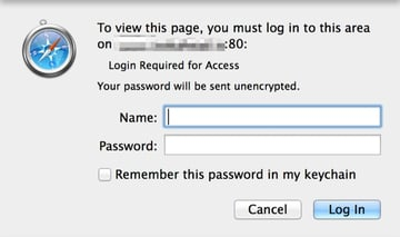 Apache User Access Restrictions