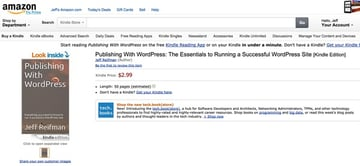 Heres Publishing With WordPress for sale at Amazon