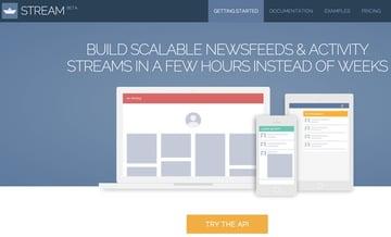 GetStreamio home page
