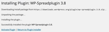 Activate the Spreadplugin for Spreadshirt