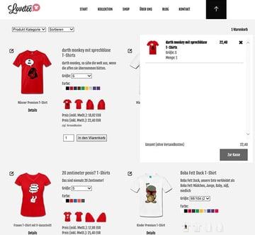 Lovette - Sample Spreadshirt Shop