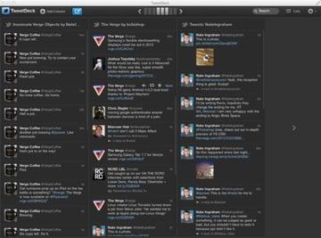 TweetDeck List View Column