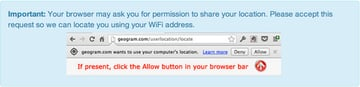Chrome Browser Asking Permission for Geolocation