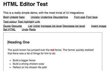 Squire HTML Demo