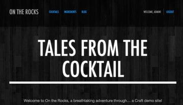Craft Demo Site On the Rocks