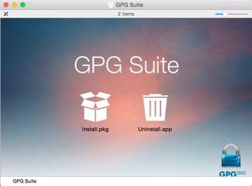 GPG Suite Package Installation