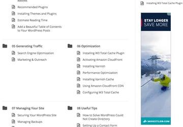 Google DFP House Ads - Sidebar with AdSense Image