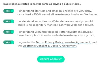 Building Your Startup Crowdfunding - Investor Cautions