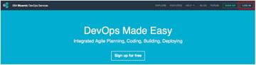 IBM BlueMix and DevOps - DevOps Home Page