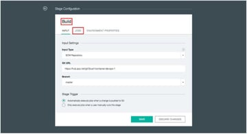 IBM BlueMix and DevOps - Rename the Stage to Build