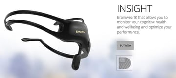 IBM Bluemix IoT Emotiv BB-8 Demo - Emotiv Insight Headset Website Image